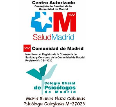 Blanca Psicóloga Colegiada M-27023